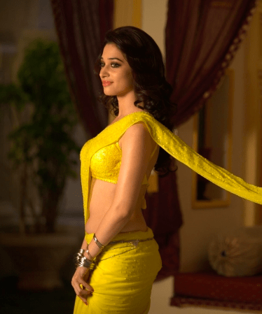 A sexy side avatar from her Bollywood movie Himmatwala