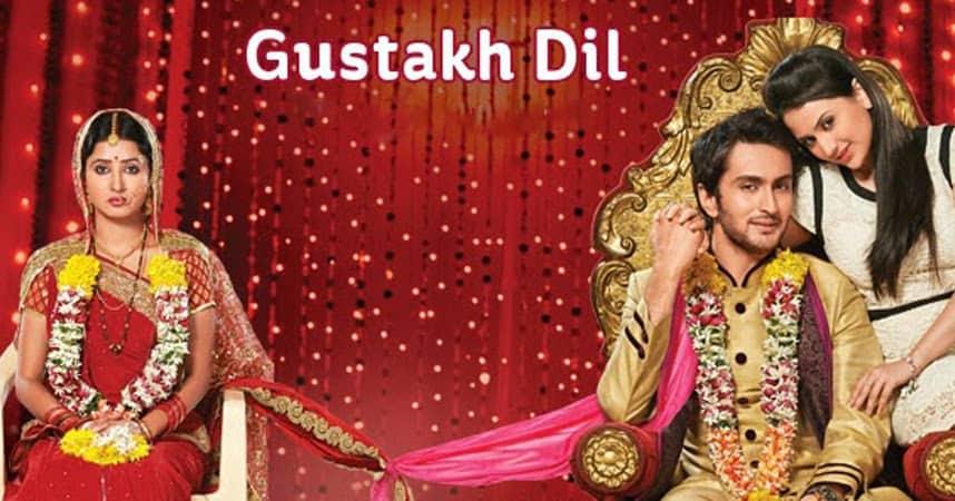 Gustakh Dil tv serial poster