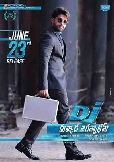 Duvvada Jagannadham movie poster
