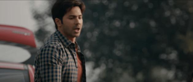 Varun Dhawan in October Movie