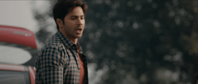 Varun Dhawan in October Movie