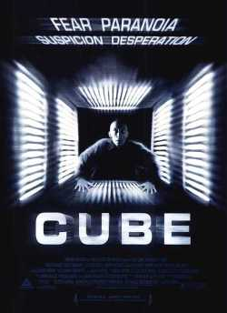 Cube movie poster