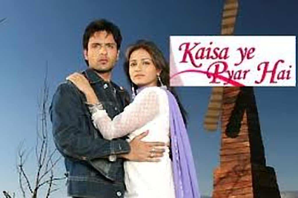 Kaisa Ye Pyar Hai tv serial poster