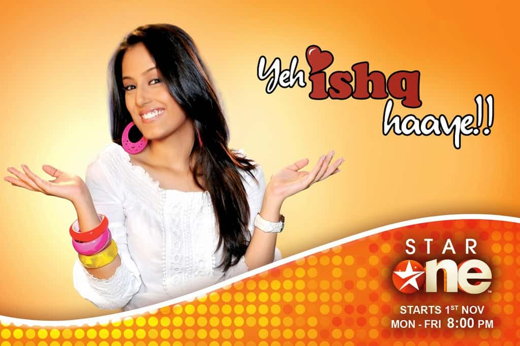 Yeh Ishq Haaye tv serial poster