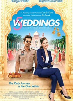 5 Weddings movie poster