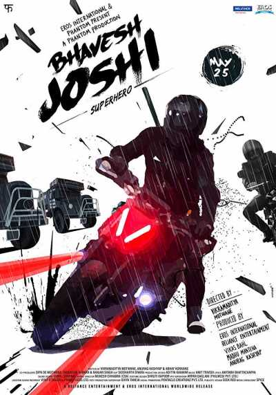 Bhavesh Joshi Superhero movie poster