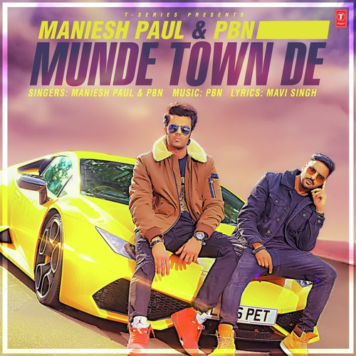 Munde Town De album artwork
