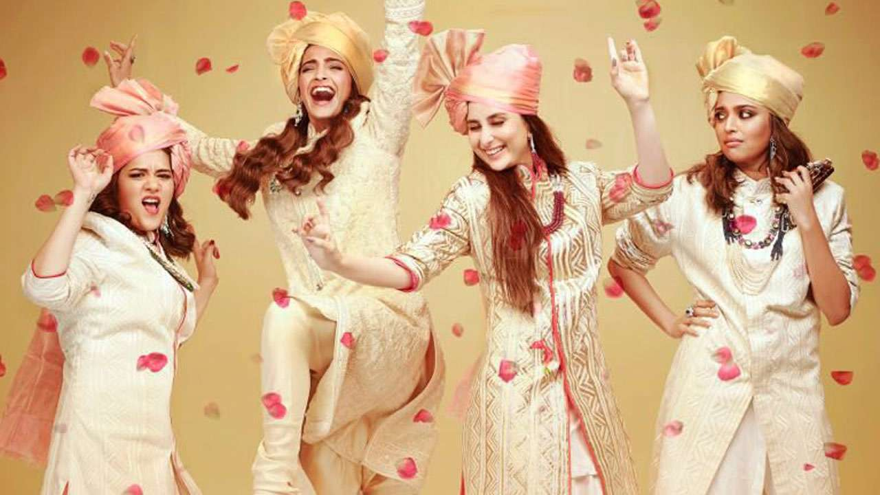 A Still from the movie Veere Di Wedding