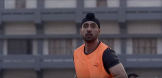 Diljit Dosanjh as Sandeep Singh in Soorma
