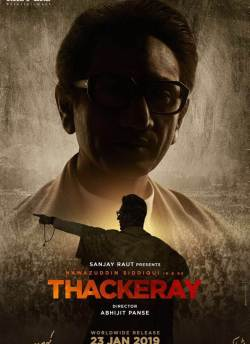 Thackeray movie poster