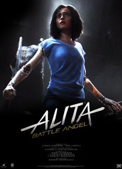 Alita: Battle Angel movie poster
