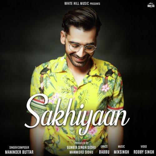 Sakhiyaan album artwork