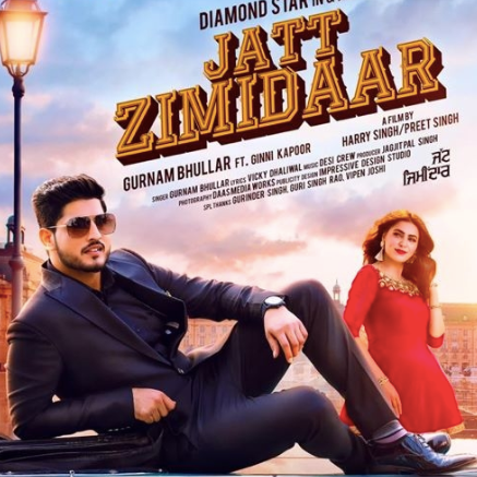 Jatt Zimidaar album artwork