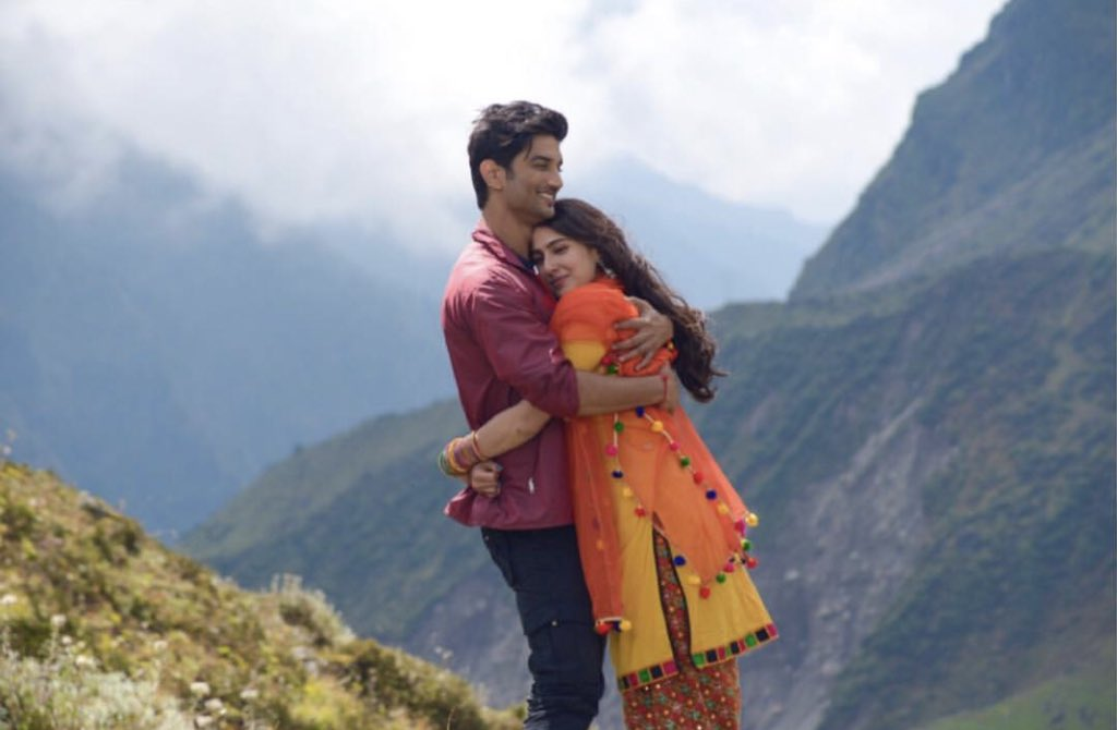 Sushant Rajput and Sara Ali Khan in Kedarnath