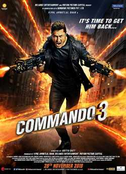 Commando 3 movie poster