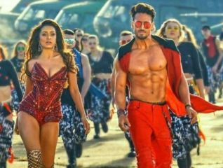 A still from movie Baaghi 3