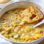 1-Pot Vegan Corn Chowder