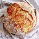 Quick No-Knead Artisan Style Bread