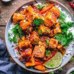 Vegan Pineapple Tofu Bowl