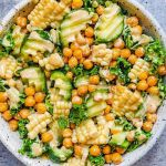Roasted Chickpea Salad with Creamy Dressing
