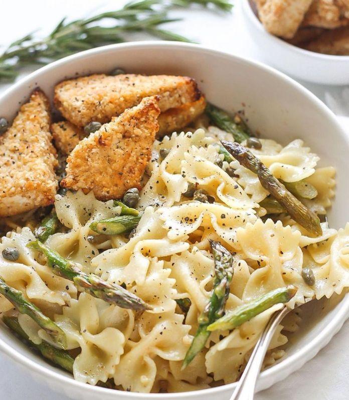 Vegan Butter Garlic Noodle Bowl