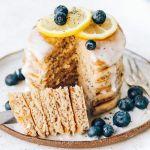 Vegan Lemon Poppyseed Pancakes