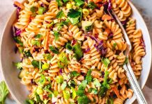 Vegan Thai Noodle Salad with Peanut Sauce