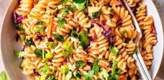 Vegan Thai Noodle Salad with Peanut Sauce