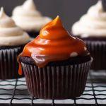 """Vegan Caramel Cupcakes (aka """"Gold Bottom"""" Cupcakes)"""