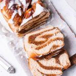 Vegan Vanilla and Almond Babka