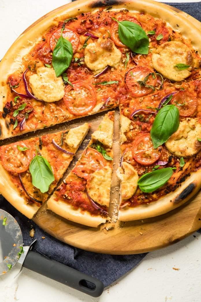 No yeast vegan gluten-free pizza crust