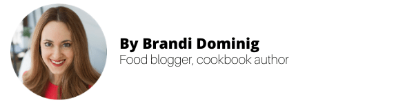 By Brandi Dominig, vegan food blogger & cookbook author