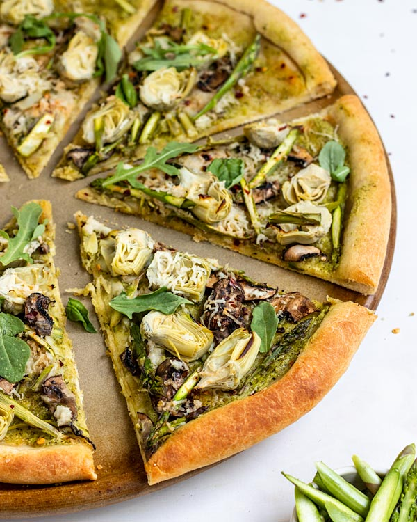 vegan artichoke pizza recipe