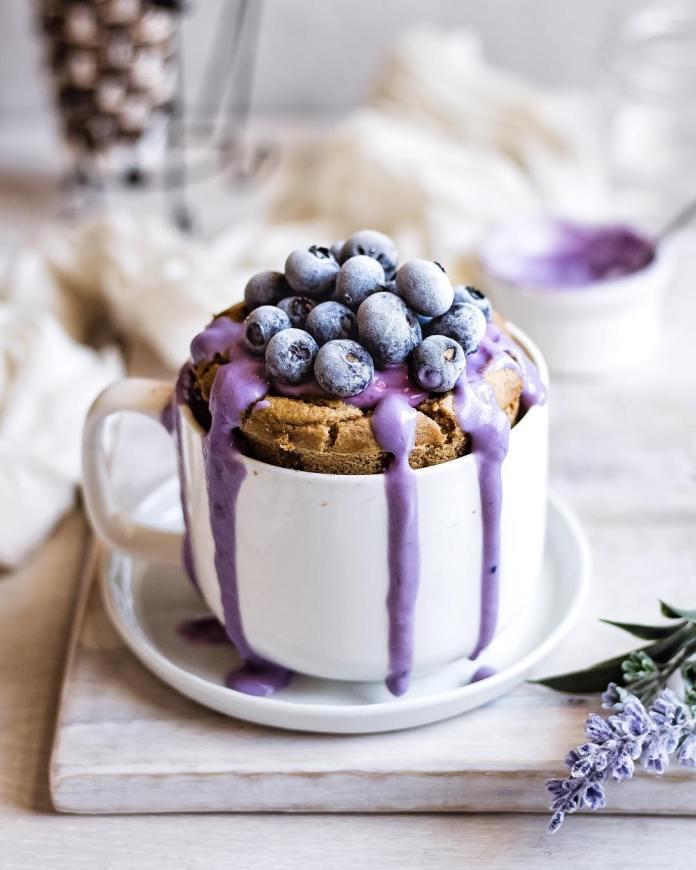 Vegan Chia Recipe: Vanilla Mug Cake