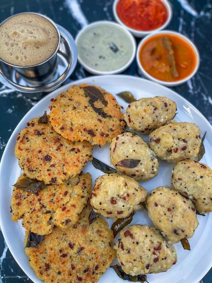 vegan south indian cuisine: rice upma