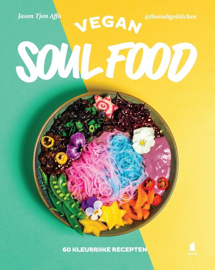 Jason Tjon Affo's Vegan Soul Food Cookbook Cover