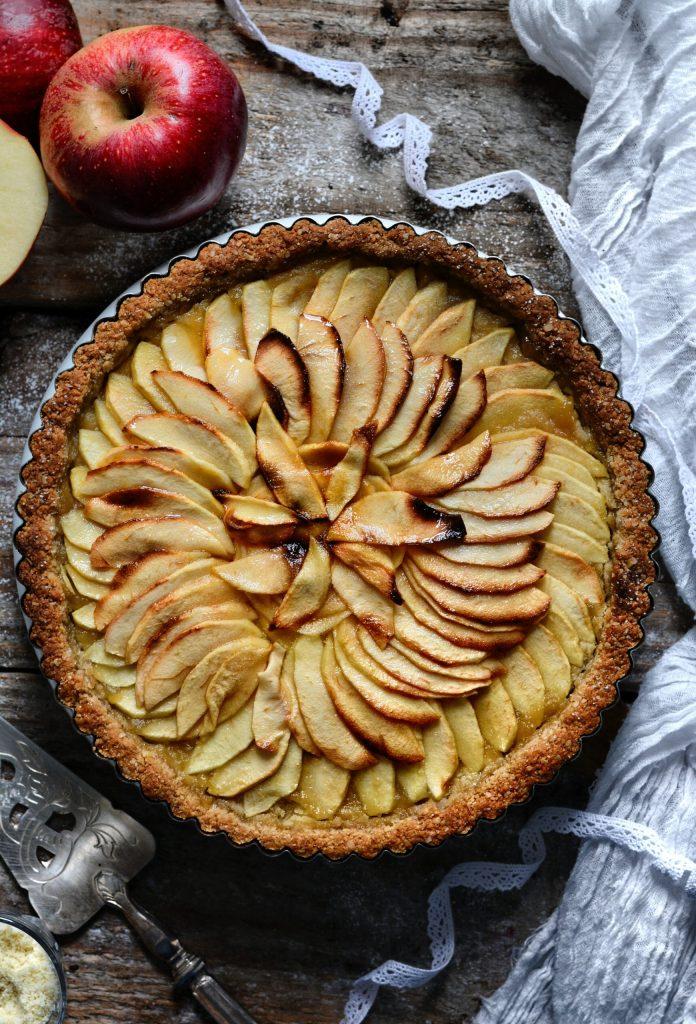vegan gluten-free apple pie