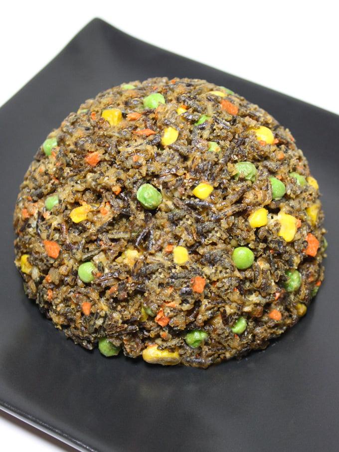 Raw Vegan Fried Rice