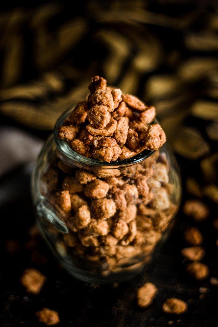 sweet vegan peanut recipe