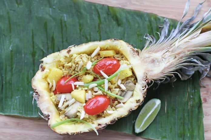 Pienapple Vegan Fried Rice