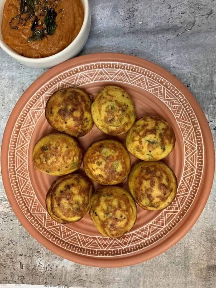 Vegan Paniyaram