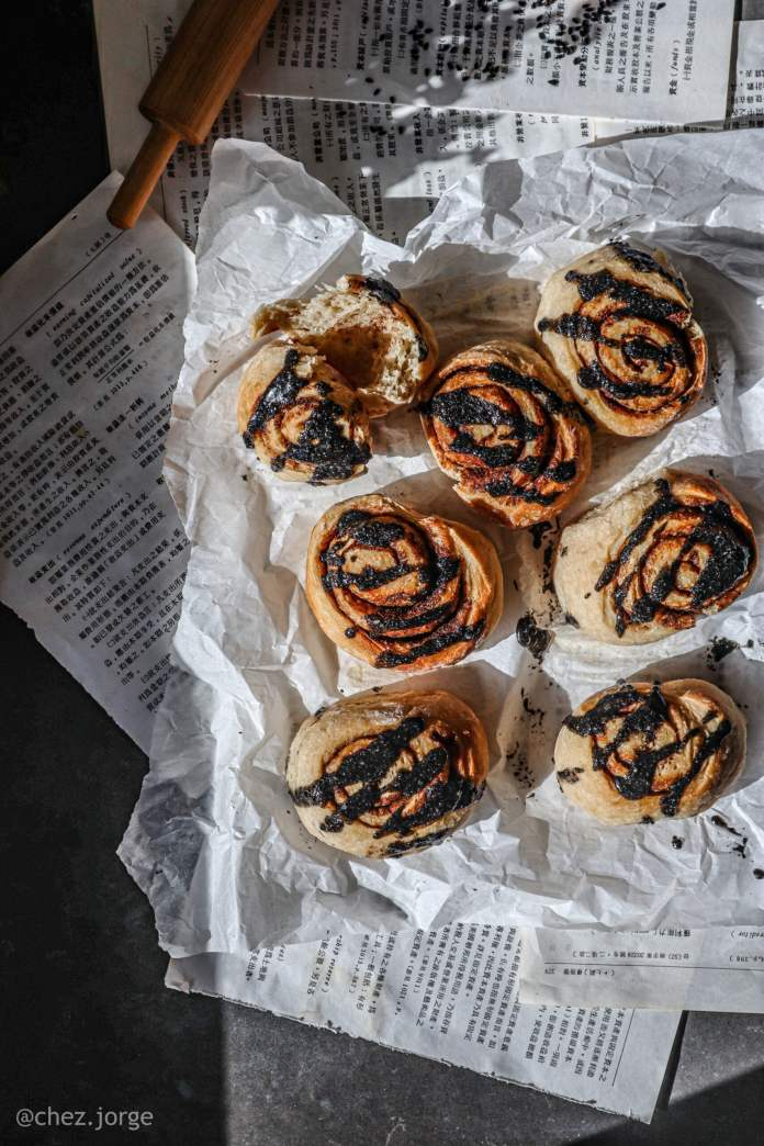 five spice vegan cinnamon bun recipe