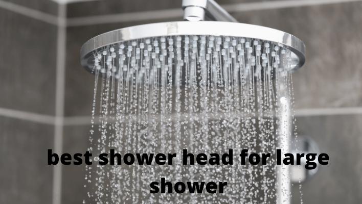 shower head for large shower