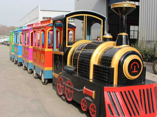 trackless train rides for sale with 17 seat