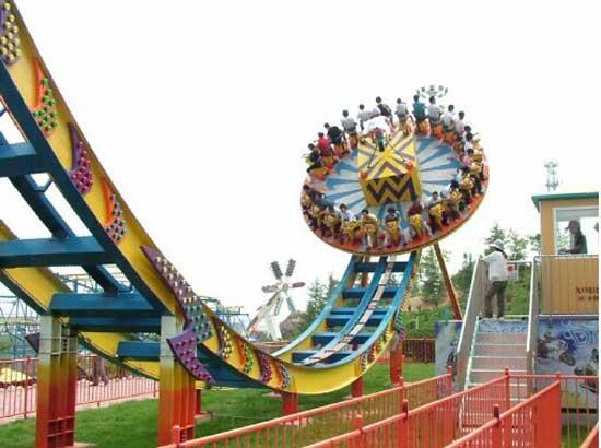 Amusement park disco rides