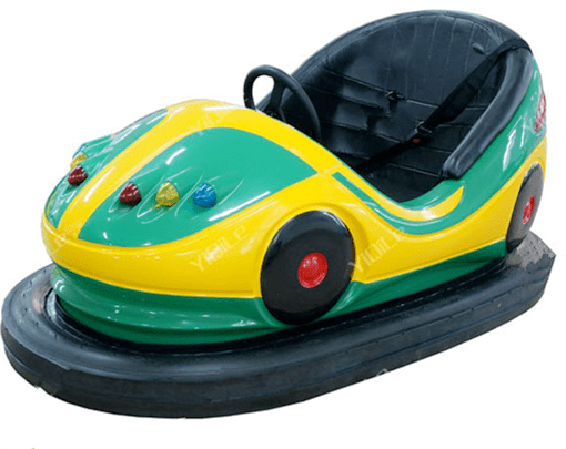 Amusement park dodgem bumper cars for kids with electric power