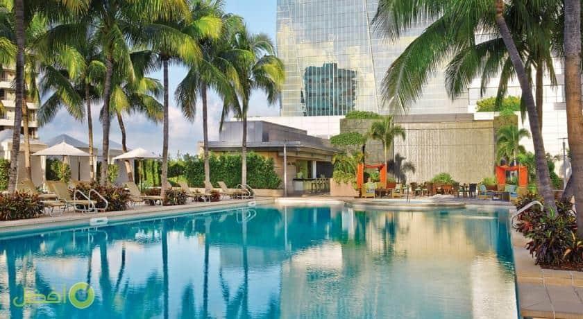 فندق فور سيزونز ميامي افضل فنادق ميامي