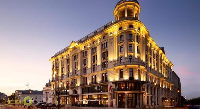 فندق لو ميريديان بريستول افضل فنادق وارسو بولندا واختيارنا لفنادق وارسو خمس نجوم