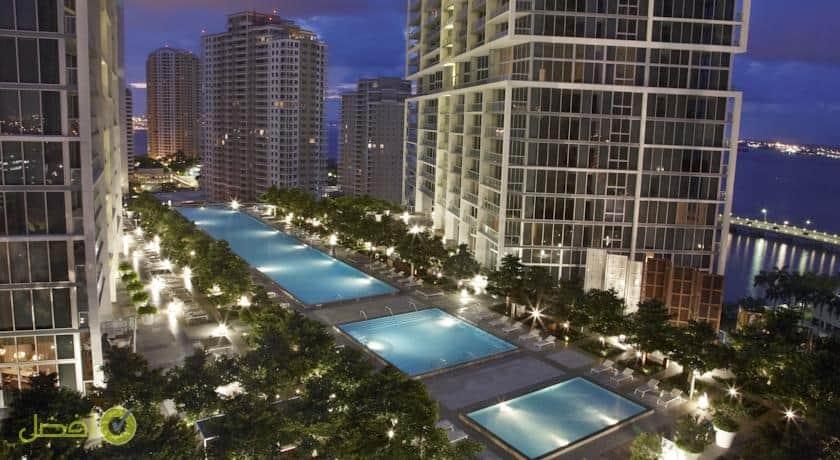 دبليو ميامي واحد من افضل فنادق ميامي Miami