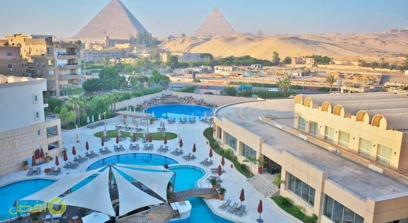 فندق ونادي صحي لو ميريديان الأهرامات وعناوين فنادق 6 اكتوبر